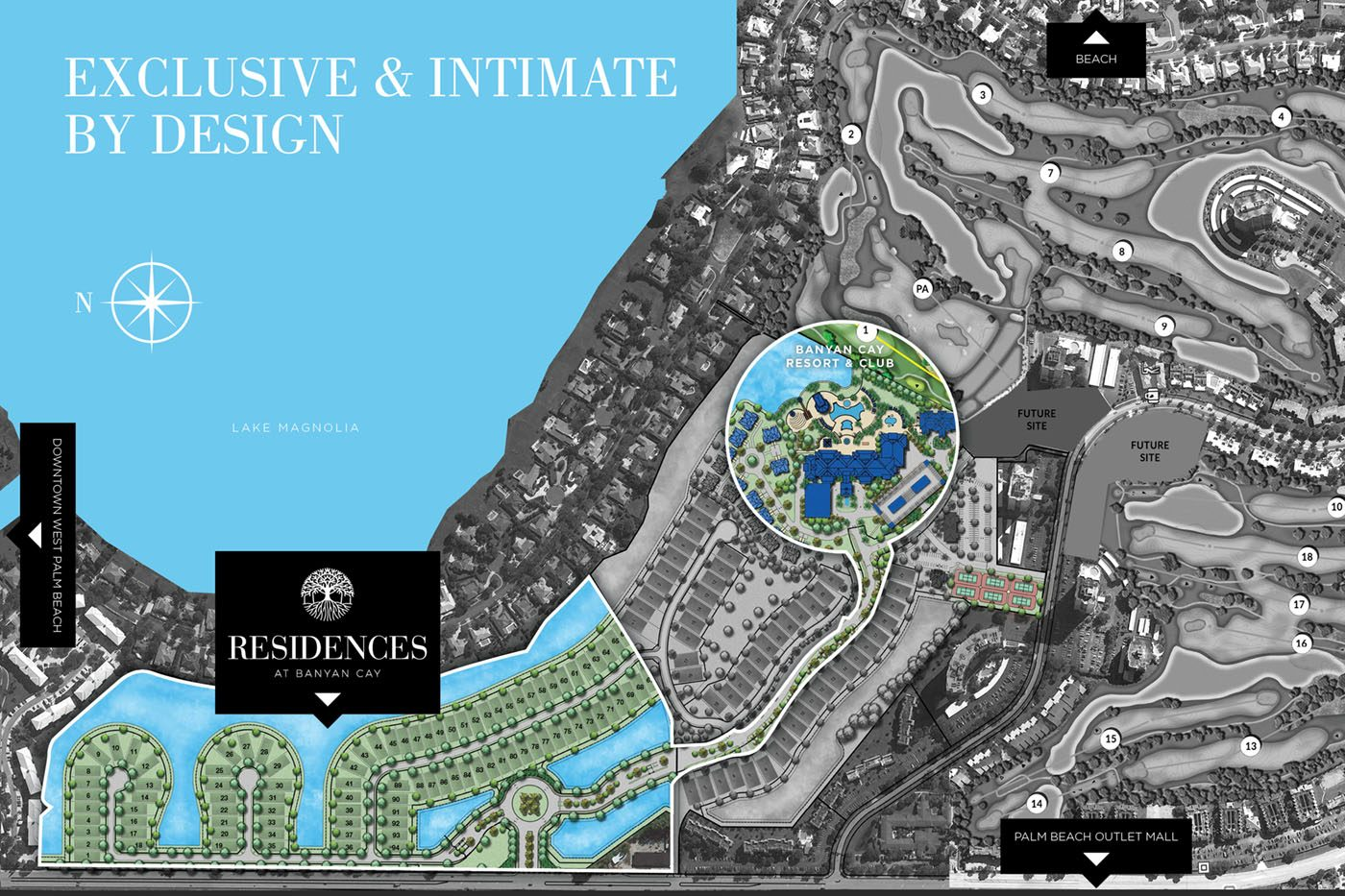 Residences at Banyan Cay Siteplan