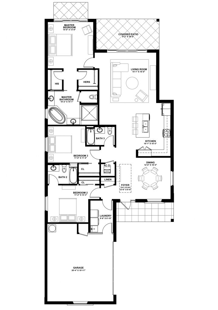 The Abaco Classic - Lot 84 Floorplan