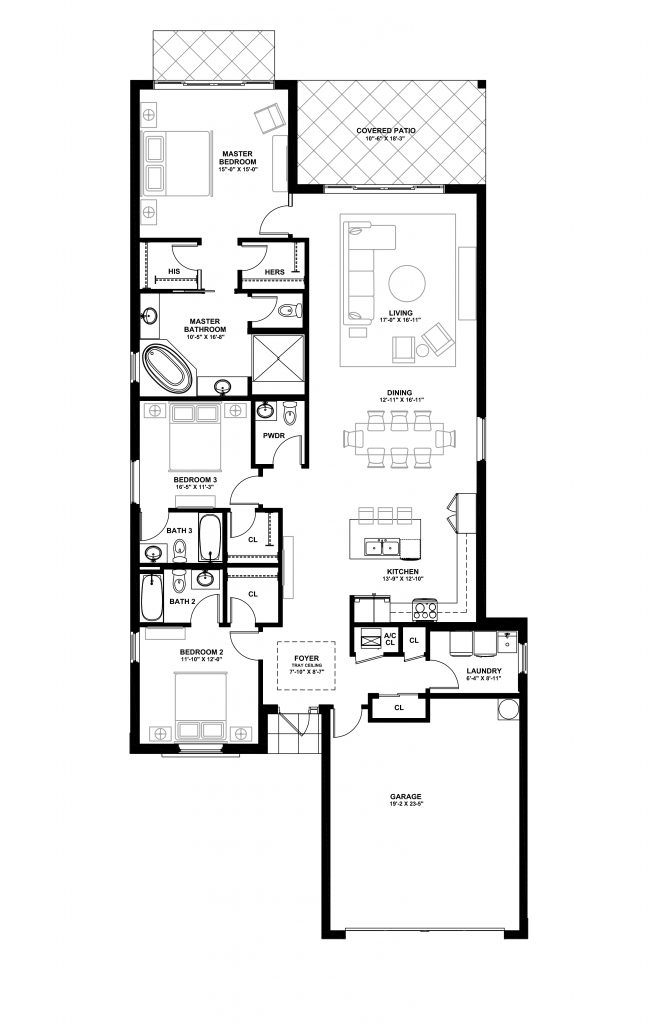 The Antigua Classic - Lot 80 Floorplan