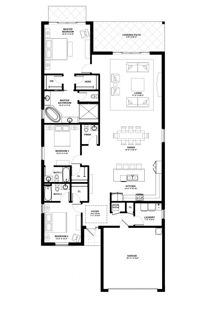 The Cayman Premier - Lot 48 Floorplan