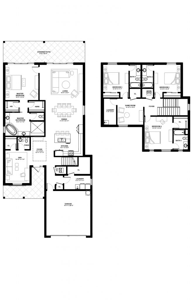 The Tortuga Classic - Lot 47 Floorplan