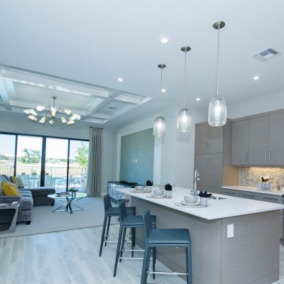 Abaco Kitchen & Living Room