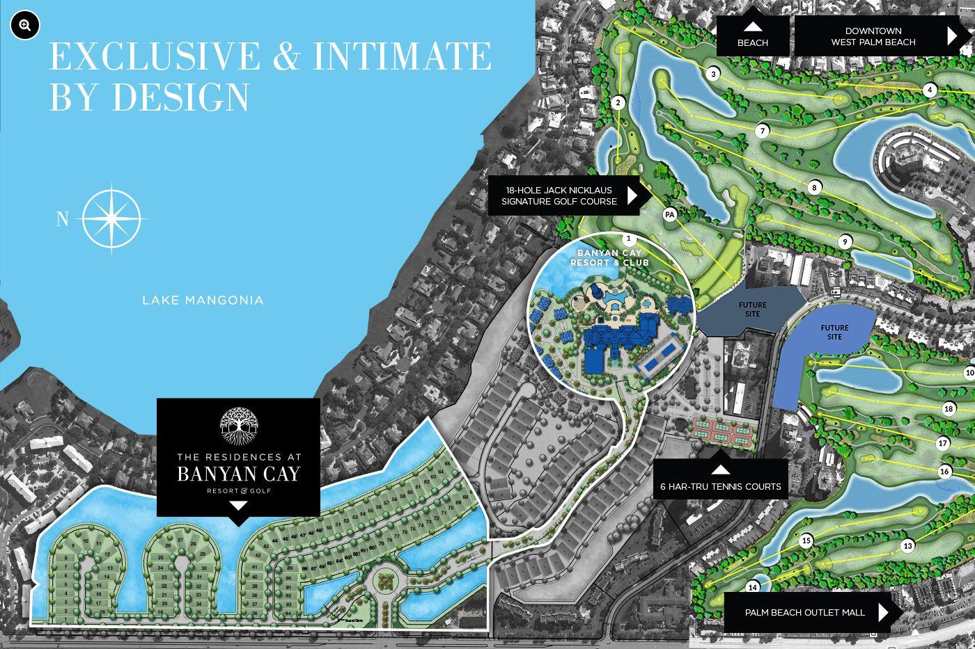 Residences at Banyan Cay Siteplan